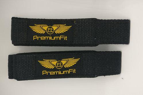 PremiumFit Cotton Lifting Straps with Neoprene Padding