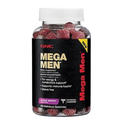 GNC Mega Men Gummy (120 count)
