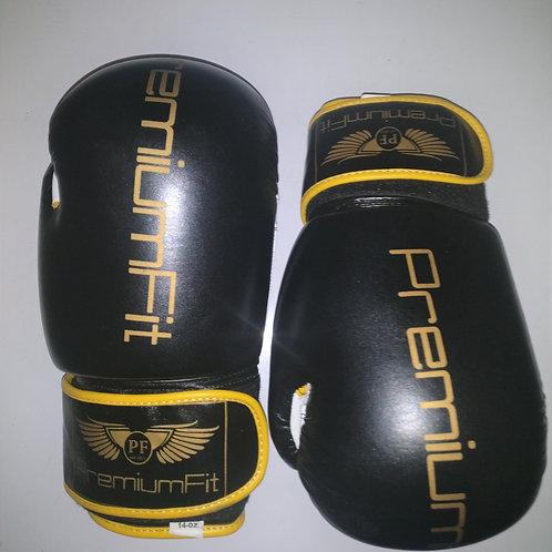 PremiumFit Pro-style Boxing Gloves (Cowhide Leather)