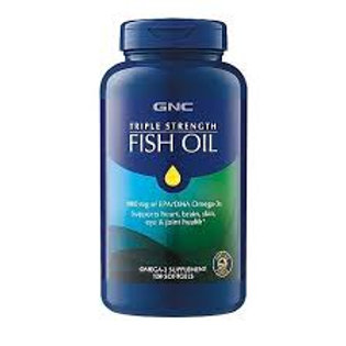 GNC Triple Strength Fish Oil (60 count)