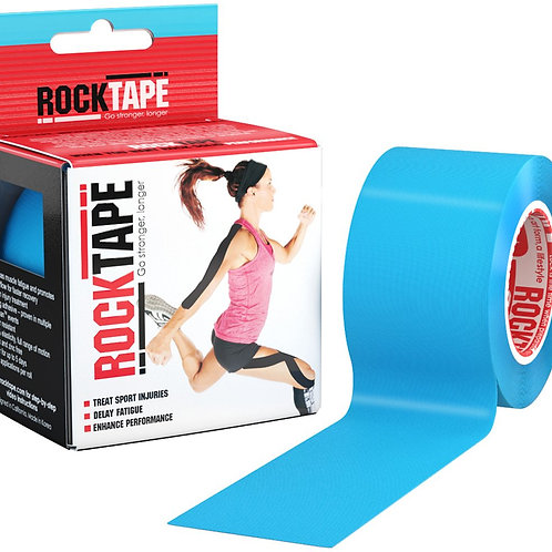 "Rocktape Kinesiology Tape For Athletes (2"" x 16.4ft) - Uncut"