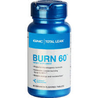 GNC Burn 60 with cinnamon (60 count)
