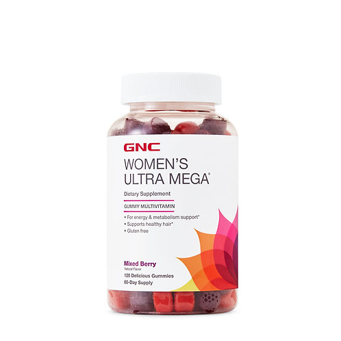 GNC Women's Ultra Mega Gummy (120 count)
