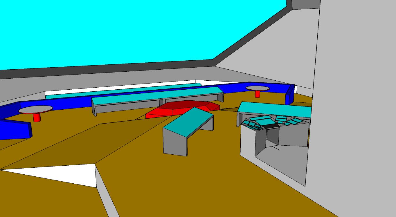 Bridge design revision 1 perspective view (version scrapped)