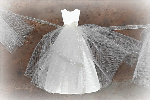 Jewel Neckline Bride Gown Banner