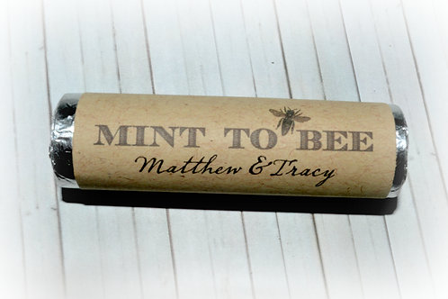 Mint To Bee Printable Personalized Mint Labels