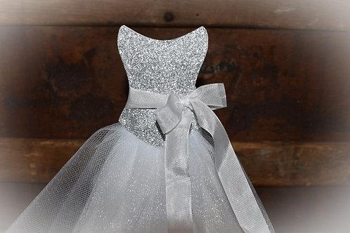 Scoop Neck Bridal Shower Wedding Dress Centerpiece