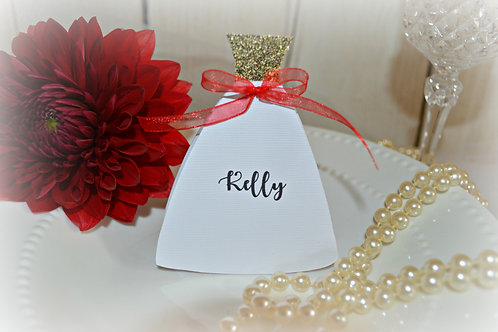 Bridal Shower Personalized Place Cards
