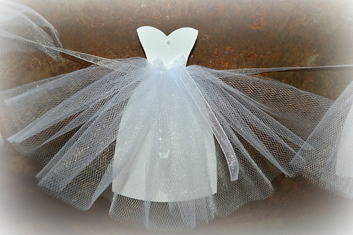 Sweetheart Style Bride Gown Banner