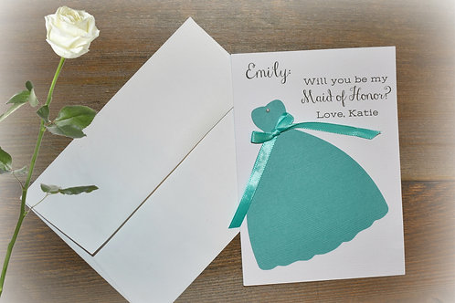copy of Bride and Bridesmaid Thank You Tags