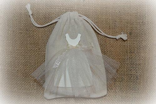 Bridal Shower Favor Cloth Gift Bag