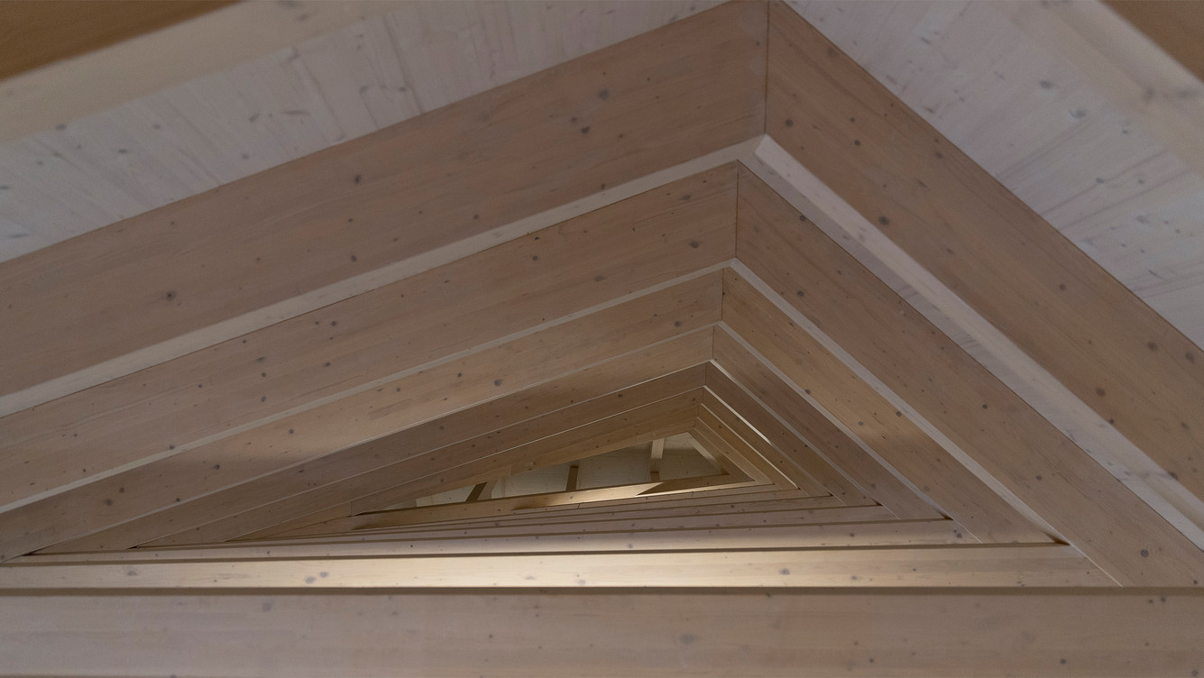 New build roof structure