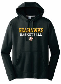 merchandise - black sweatshirt (yellow l