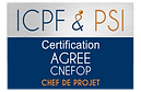 Logo ICPF & PSI Agree CNEFOP Chef de Pro