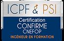 Logo ICPF & PSI Confirme CNEFOP Ingenieu