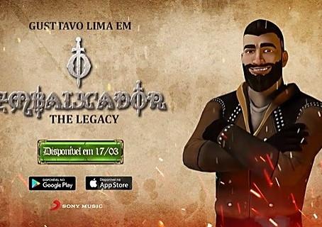"""Muita gente nem sabe, mas Gusttavo Lima virou jogo virtual com o app """"The Legacy"""""""