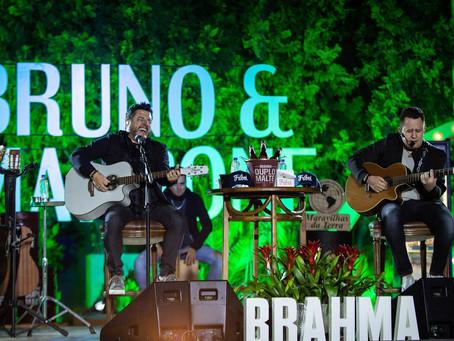 """Saiu o primeiro álbum produzido em período de quarentena, chegou """"Bruno e Marrone em Casa"""""""