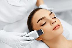 Skin Care. Close-up Of Beautiful Woman R