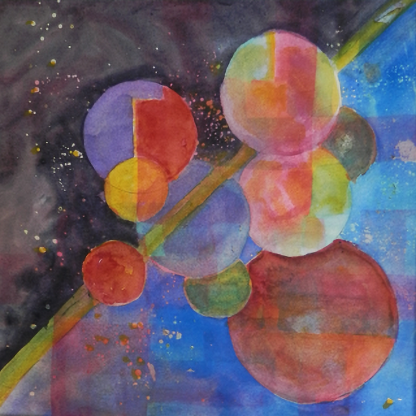 Introduction to Abstract Paint with Watercolors or Acrylics - Connie Canby