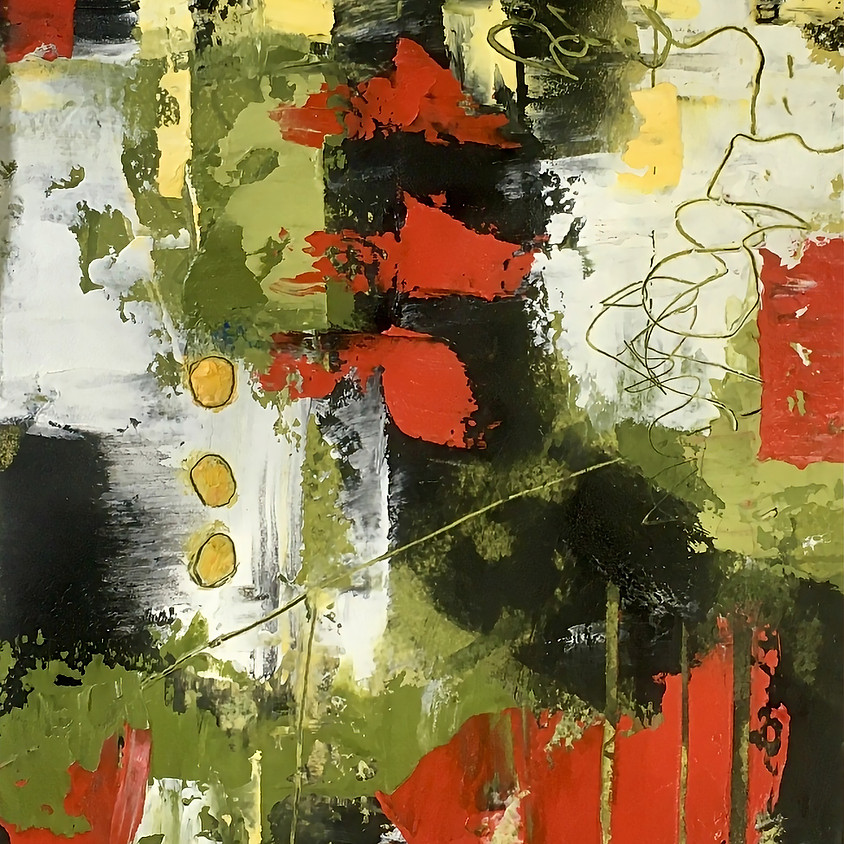 Intermediate Cold Wax and Oil  -  Linda Benton McCloskey