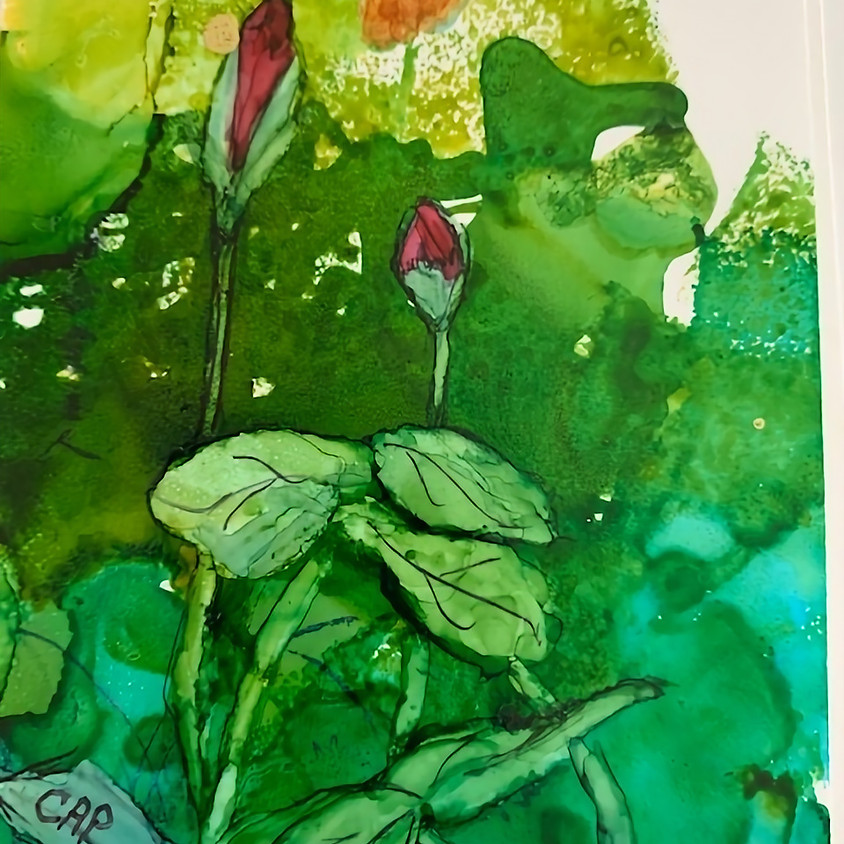 Experiment With Alcohol Inks - Carole Purcell