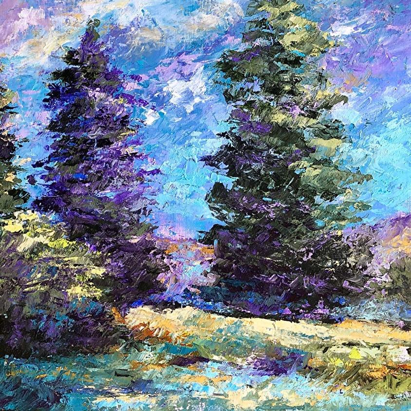 Beginning Landscape Oil and Cold Wax Workshop - Linda Benton McCloskey