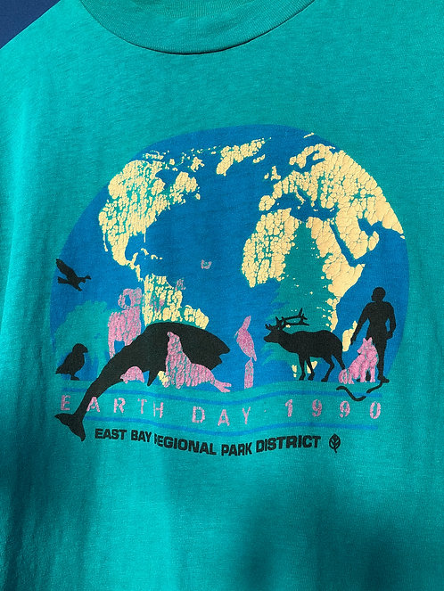 1990 East Bay Earth Day Tee L