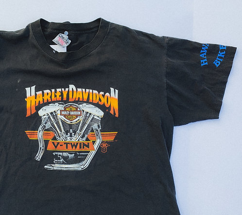 1987 Harley V-Twin Hawaii Beauty Tee XL