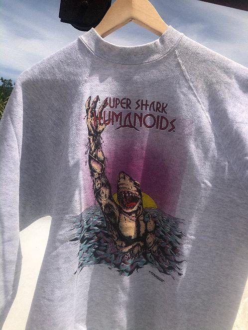 1991 Super Shark Humanoids Comic Crew L