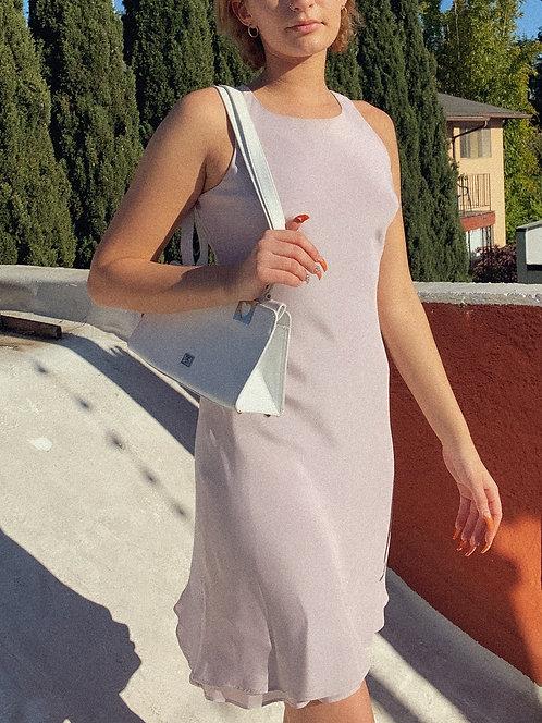 90's Pretty Spring Lilac Bidness Baddie Dress XS