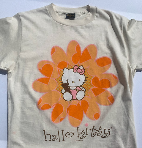90's Groovy BB Hello Kitty Tee WOW L-XL