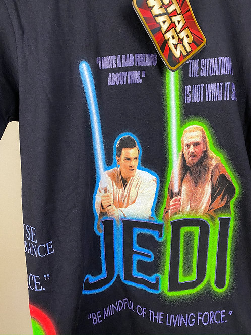 1999 Star Wars Episode I All Over Print Tee S