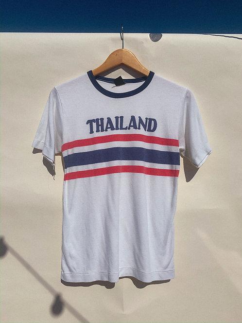 80s Thailand Souvenir Ringer Tee S/M