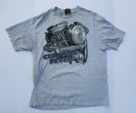1994 Harley Chrome Fever Heather Tee XL