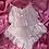 Thumbnail: Pink Sheer Rosie Teddy- Lace trim princess dreams L/XL