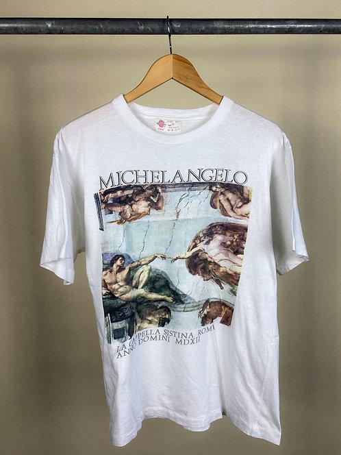 90s Michelangelo Art Tee M