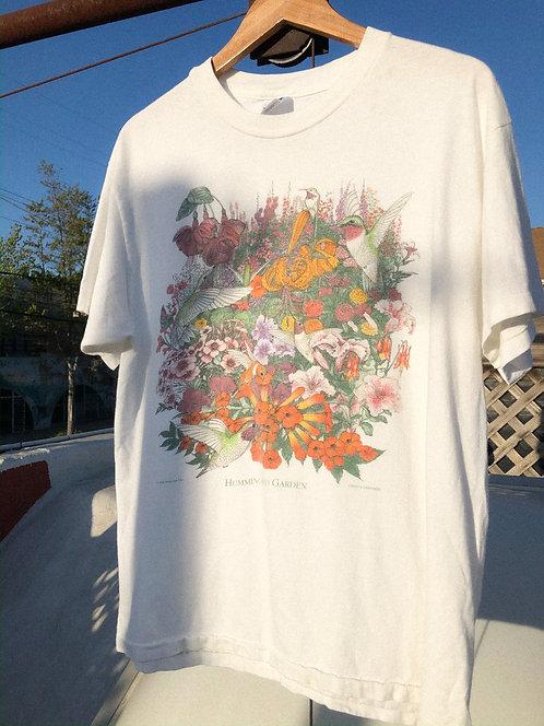 1994 Hummingbird Garden Beauty Tee M/L