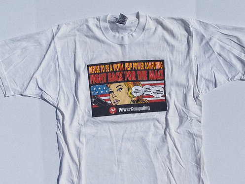 90s Fight Back for the MAC Cyber Comic Tee