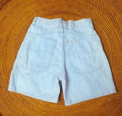 """23/24"""" 90s Lee Ultra Lightwash Denim Shorts"""