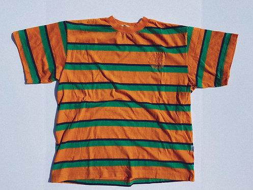 90s Espirt Bold Stripe Tee M