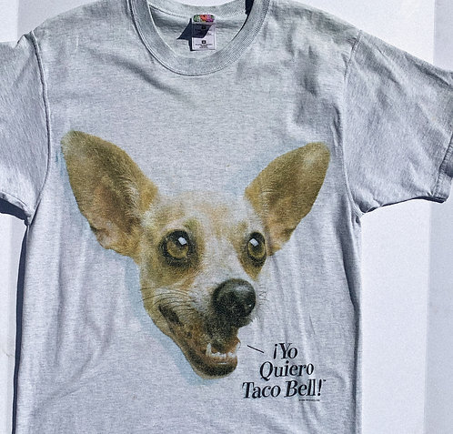 90's Taco Bell ChihuahuaTee haha M-L