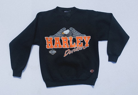 80s Harley Davidson Westminster Classic Eagle Crew M