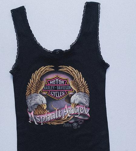 1987 Harley Asphalt Angel 3D Emblem Tank M/L
