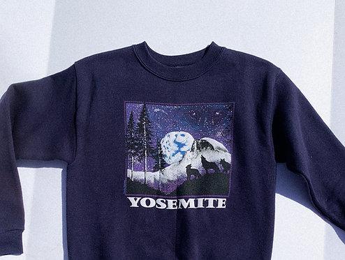 90s Yosemite Starry Night Crew XS