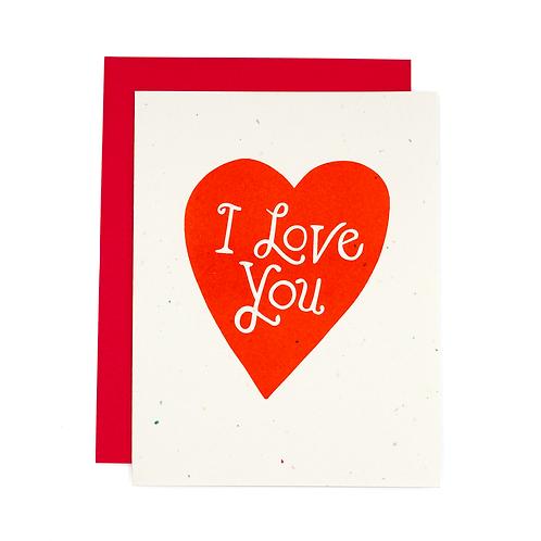 I love you 4 Eva!! Small Batch Card