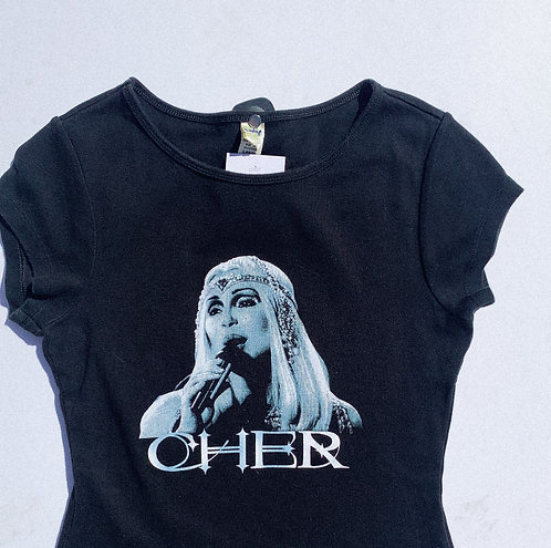 90s Lil Cher ICON Sparkle Tee S