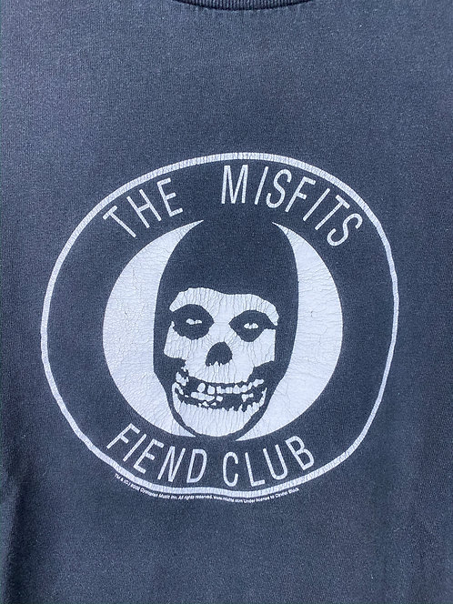 '02 Misfits Fiend Club Faded Tee S