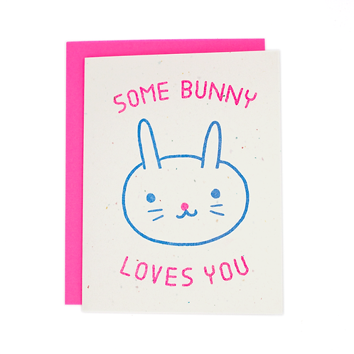 Some Bunny Loves You small batch card