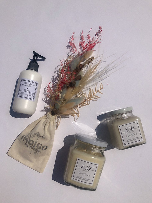 Mother's Day Set (Blooms + 2 Candle + Large Hand Sani)