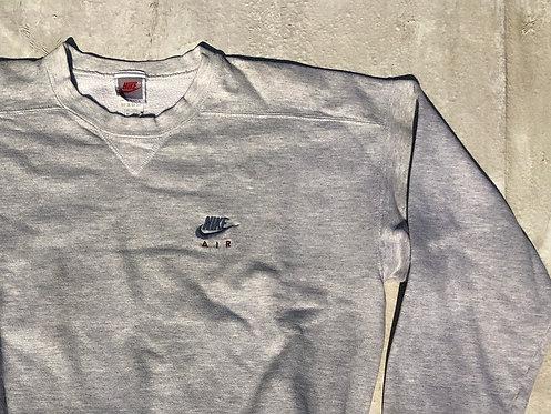 90s Nike Air Heather Chest Logo Crew L